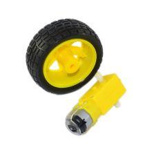 TT-Мотор  + резиновое колесо