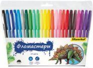 "Фломастеры 24 цв. Silwerhof ""Динозавры"" (арт. 877065-24) (14564)"