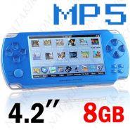 Игровая консоль + MP5 плеер (8Гб)