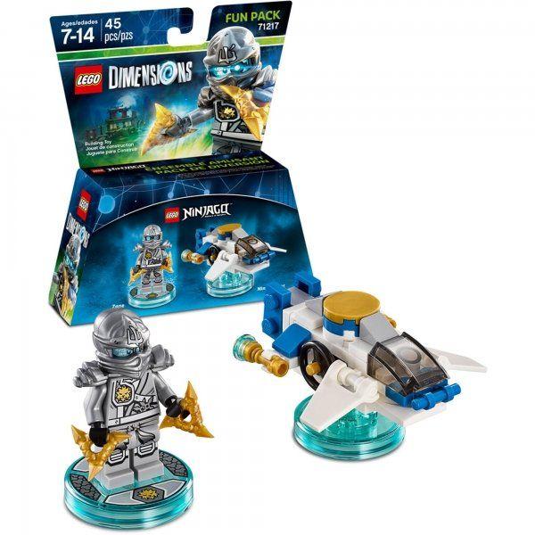 Lego Dimensions 71217 Fun Pack (Lego Ninjago, Zane)