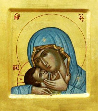 Девпетерувская икона Божией Матери (рукописная)