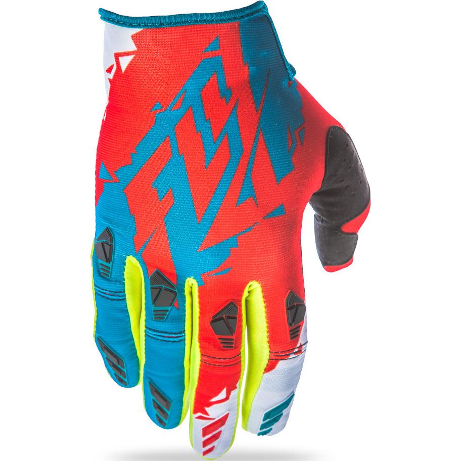 FLY - 2017 Kinetic перчатки, зелено-красные