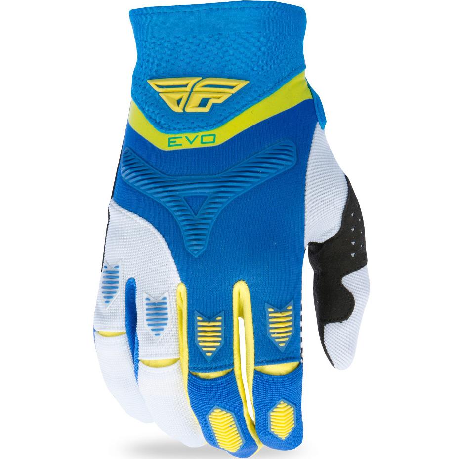 FLY - 2017 Evolution 2.0 перчатки, сине-желто-белые