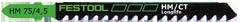 Пилка для лобзика HM 75/4,5 Festool