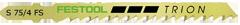 Пилки для лобзика, компл. из 100 шт. S 75/4 FS Festool