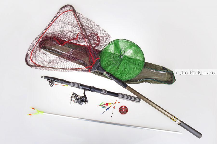 """Комплект оснащенный  """"На рыбалку"""" - Simple - компакт 360 ( в чехле)"""