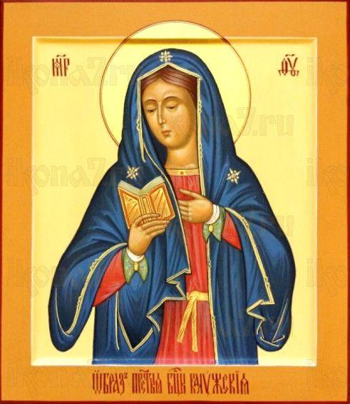 Калужская икона БМ (рукописная на заказ)