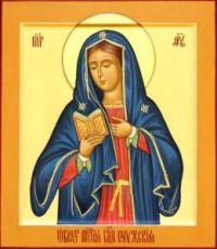 Калужская икона Божией Матери (рукописная)