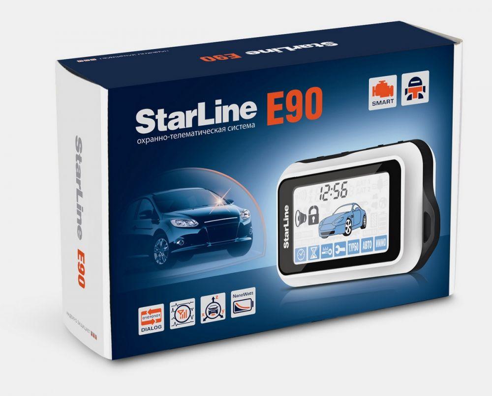 Автосигнализация StarLine Е90 Dialog GSM
