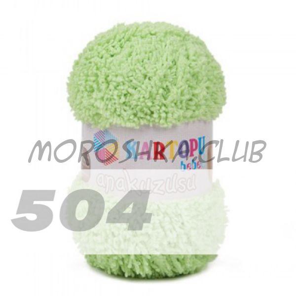 Салатовый Anakuzusu Kartopu (цвет 504), упаковка 5 мотков