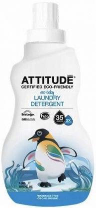 Attitude Концентрированное средство для стирки Baby гипоаллергенное без запаха (3х концентрат) 1040 мл