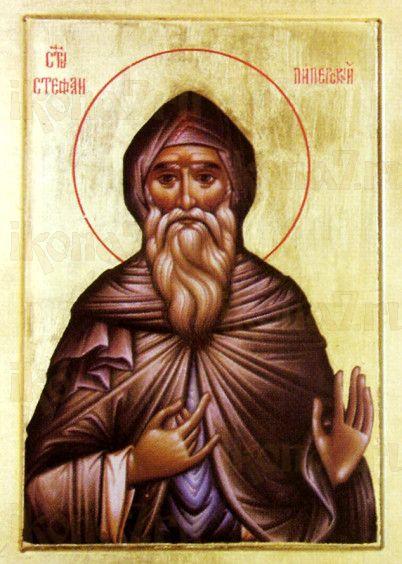 Стефан Пиперский (рукописная икона)