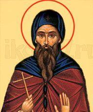 Стефан Савваит (рукописная икона)