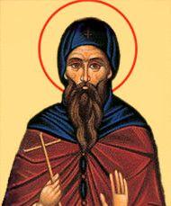 Икона Стефан Савваит (рукописная)