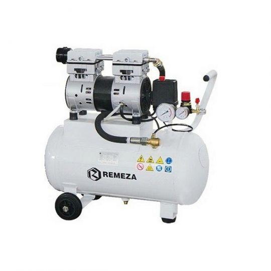 компрессор безмасляный поршневой 150 л/мин, 8 бар, 1.1 кВт. 220 В, ресивер 50 л.