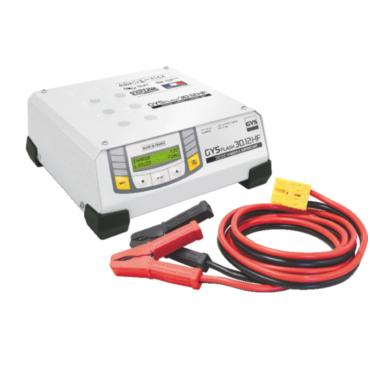 GYSFLASH 30.12 HF Зарядное устройство для аккумуляторов 12 В, ток зарядки 30 А, мощность 500 Вт. Инверторное зарядное устройство, поддержка аккумулятора автомобиля находящегося в фазе диагностики. Идеальное качество зарядки при обслуживании самых современ