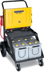 ENERGY STATION Мобильное пусковое устройство для автомобилей с аккумуляторами 12/24В. Идеально подходит для парков грузового и автобусного транспорта, противопожарных расчётов, служб МЧС, автотранспорта работающего в сложных климатических условиях. Тележк