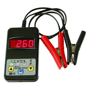 BT 111 DHC 12 В. Электронный, сверхскоростной и точный тестер для аккумуляторов. Диагностика свинцовых аккумуляторов с жидкостным или гелиевым электролитом от 20 до 150 а/ч. Тестирование без отсоединения и отсоединённого аккумулятора. Тест разряженного ак