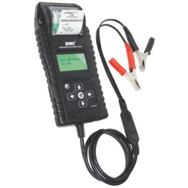 BT 2010 START-STOP DHC 6/12/24 В. Профессиональный электронный тестер для аккумуляторов со встроенным принтером. Позволяет тестировать аккумуляторы 6-12 В, пусковые токи 12-24 В, электроцепи 12-24 В. Диагностика свинцовых аккумуляторов с жидкостным или ге