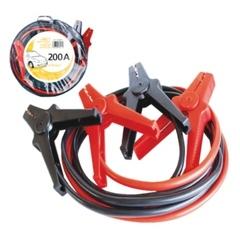 Комплект пусковых кабелей в сумке, с изолированными зажимами для автомобилей с объёмом двигателя 1.5L - 2 x 2.8m, сечение кабеля - 10mm²
