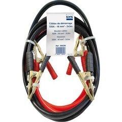 Профессиональные пусковые кабели с бронзовыми зажимами. 320A - 2 x 3m, сечение кабеля 16mm²