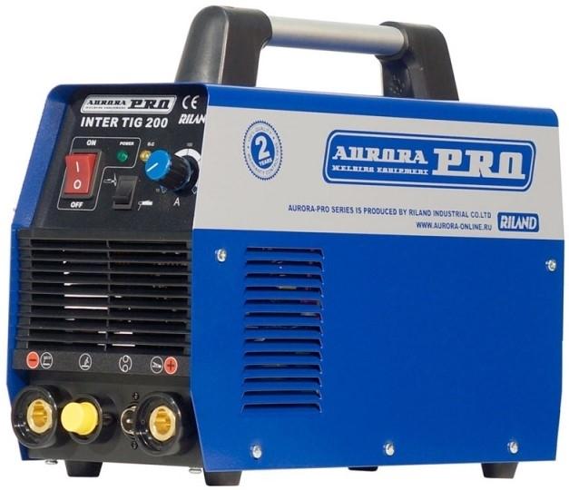 Сварочный аппарат аргонодуговой сварки INTER TIG 200 AC/DC PULSE Mosfet /Aurora-Pro