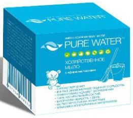Pure Water Хозяйственное мыло с эфирными маслами 175 г
