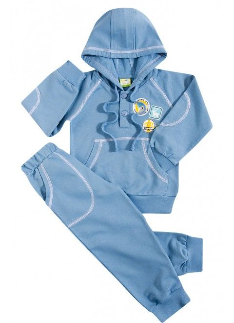 Теплый костюм для мальчика на флисе