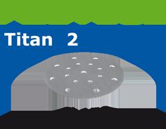 Шлифовальные круги STF D150/16 P500 TI2/100