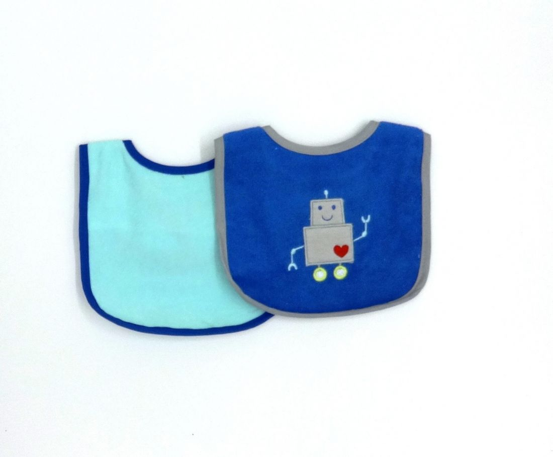 Нагрудники для малыша Робот