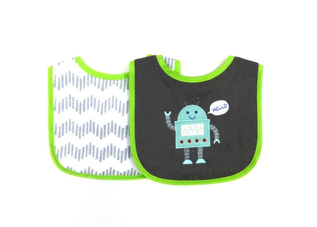 Нагрудники для малыша Я робот