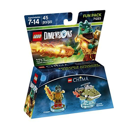 Lego Dimensions 71223 Fun Pack Cragger (Lego Chima)