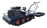 БарсК8009 всесезонный мотобуксировщик на пневмо колесах, две гусеницы, вариатор Сафари, двигатель MTR, 9 л. с.