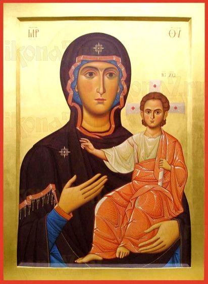 Моздокская икона Божией Матери (рукописная)