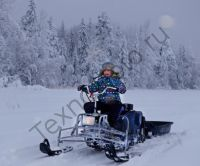 Барс ЛМС 100 универсальный лыжный модуль для мотобуксировщика