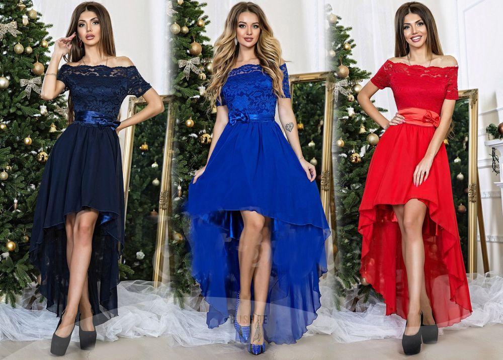 Другие фото Темно-синее платье со шлейфом b392e73a7e7