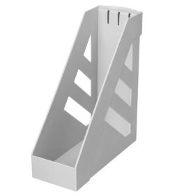 Лоток вертик 100мм СТАММ Ультра серый/12 ЛТ01