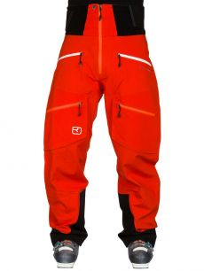 Ortovox MERINO GUARDIAN SHELL 3L [MI] pants M crazy orange