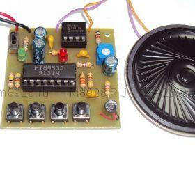 """Радиоконструктор № 057, """"Голос робота"""""""
