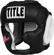Шлем боксёрский TitleI Gel World Training GTTHG REG BK