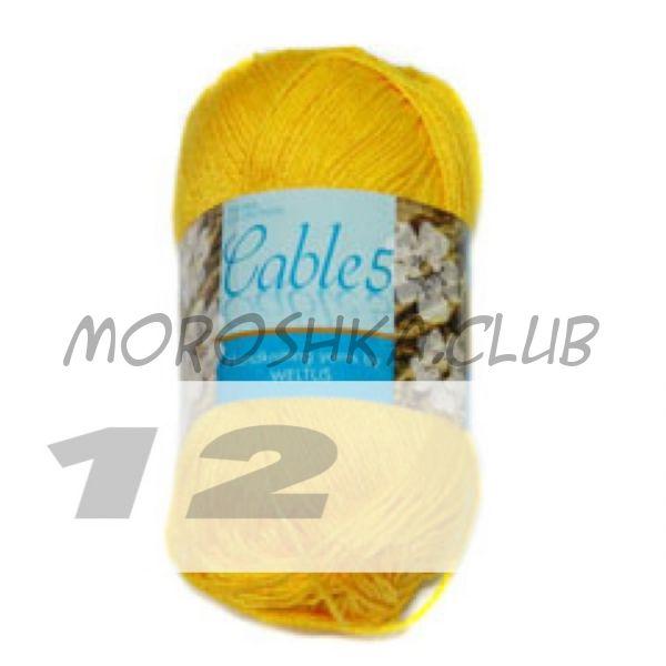 Цвет 12 Cable 5, упаковка 10 мотков