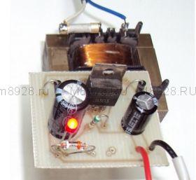 Радиоконструктор № 005, Блок питания 220/12 в