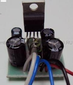 """Радиоконструктор № 006, """"Усилитель мощности низкой частоты 1х10 Вт, на микросхеме TDA2003"""""""