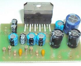 """Радиоконструктор № 007, """"Усилитель мощности низкой частоты 2х10 Вт, на микросхеме TDA2004"""""""