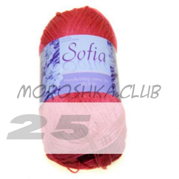 Цвет 25 Sofia, упаковка 10 мотков