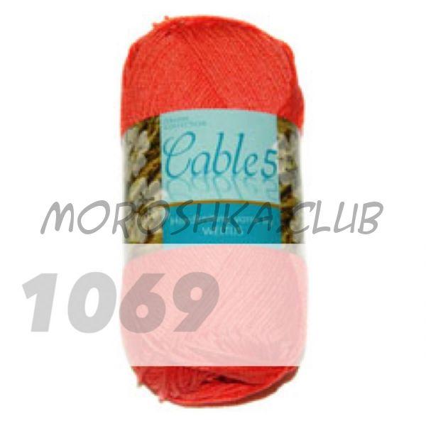 Цвет 1069 Cable 5, упаковка 10 мотков