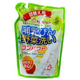 """""""CHU-CHU Baby"""" Жидкое средство для мытья детских бутылочек, детской посуды, овощей и фруктов (повышенной концентрации), 270 мл"""