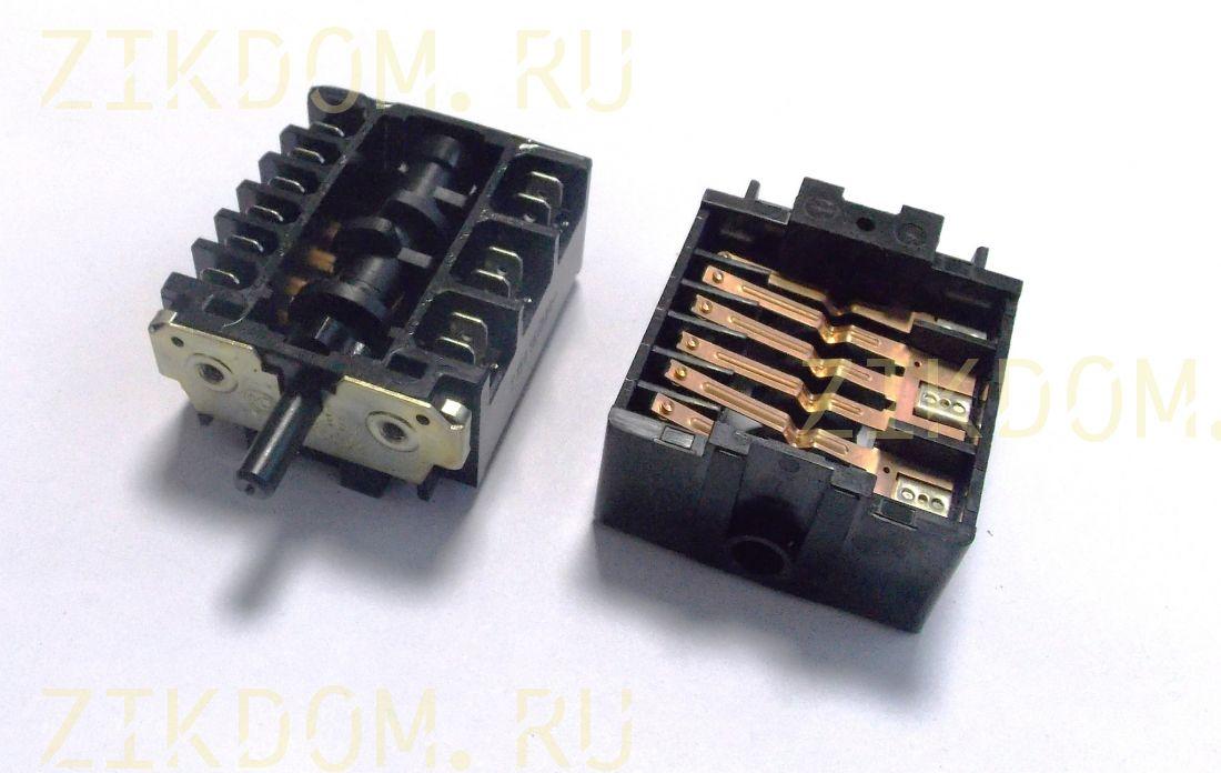 Переключатель режимов духовки для электроплиты Мечта ПМ-16-5-06