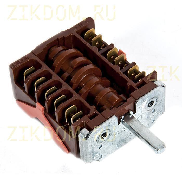 Переключатель режимов духовки для электроплиты 46.25866.560