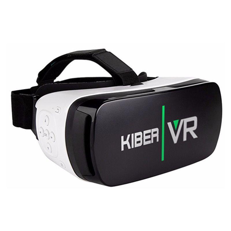 Очки виртуальной реальности для 4.0'' - 5.5'' (KiberVR, белый)